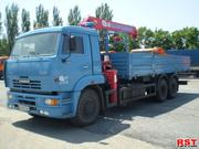 Услуги кран-манипулятор КАМАЗ 53212