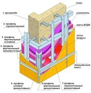 Предлагаем вентилируемые фасадные системы в Чебоксарах